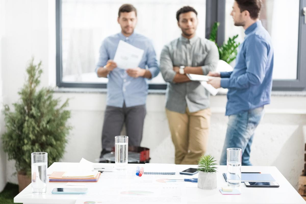 Not so long ago, meetings didn't require you to stay in shot